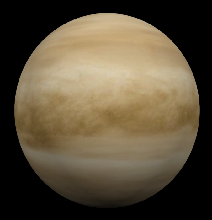Venus, the hottest planet in our solar system